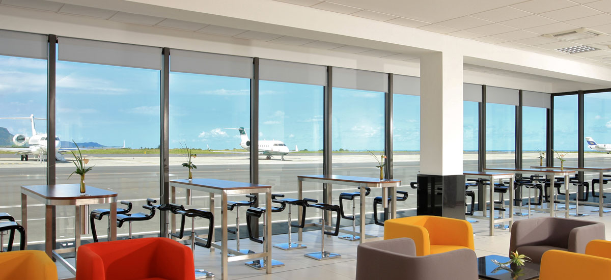 Private Terminal - Yu Lounge - Mauritius, Indian Ocean