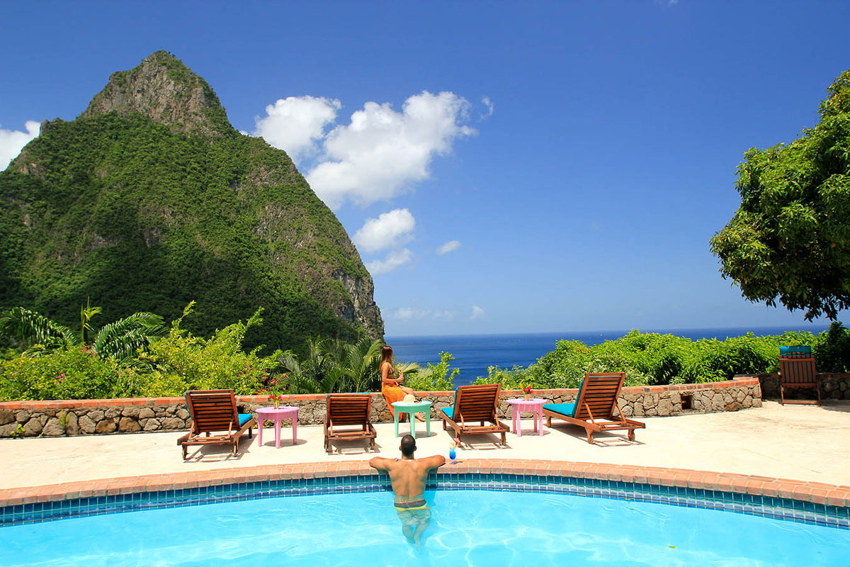 Stonefield Estate, St Lucia