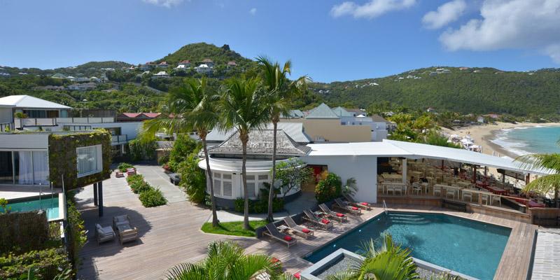 Hotel Taiwana, St Barths, Caribbean