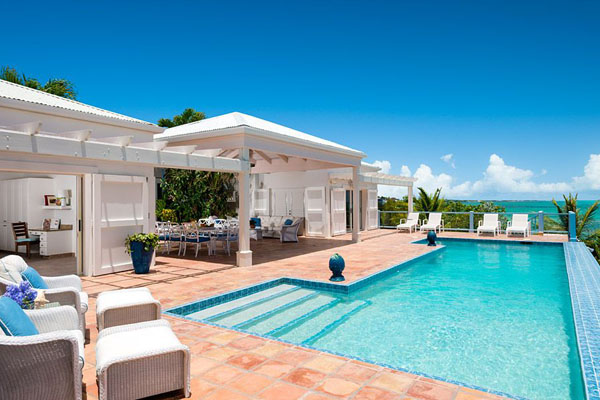 Luxury 4 Bedroom Villa, Luxury Turks & Caicos Villas